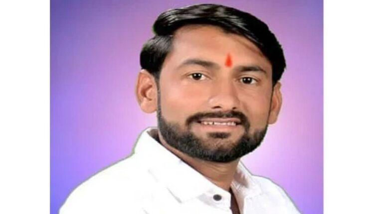 sarpanch vishal chavan dies in an accident